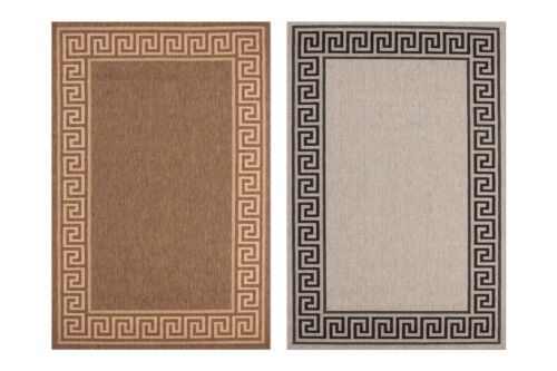 Tapis Sisal Optique Modern PASSEMENTERIES Design tressés beige marron 200x290cm