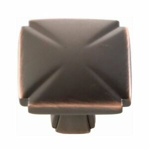 "P3184-OBH Oil Rubbed Bronze Highlighted 1 3//16/"" Round Cabinet Knob Pulls Hickory"