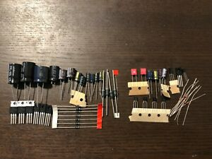 Pioneer-SX-939-Power-Supply-amp-Protection-Recap-Kit-Capacitor-Upgrade-Rebuild-Set