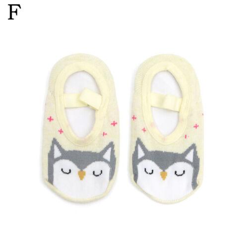 Cartoon Children Thicken Floor Socks Toddler Kids Terry Non-slip Stockings 1-3 Y