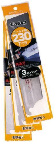 Tajima zugsägeblatt 250 mm 19 dents par pouce finement Tajima empoigne guidée menuisier