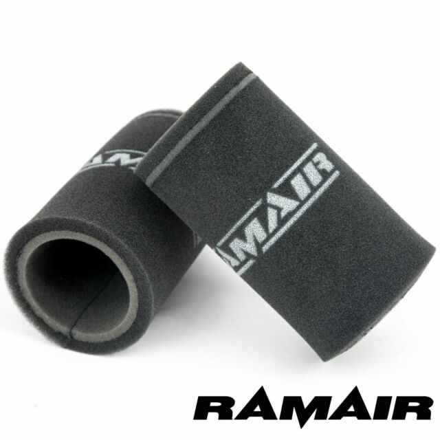 RAMAIR 2 x Single Carb Velocity Stack Foam Filter 165mm Weber DCOE 40 & 45