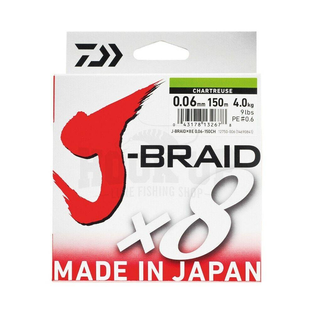 Daiwa j braid x8 braid multicolor  - 500m  shop now