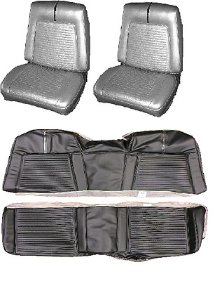 Plymouth Sport Fury Bucket Seat and Rear Seat Cover Convertible 66 1966