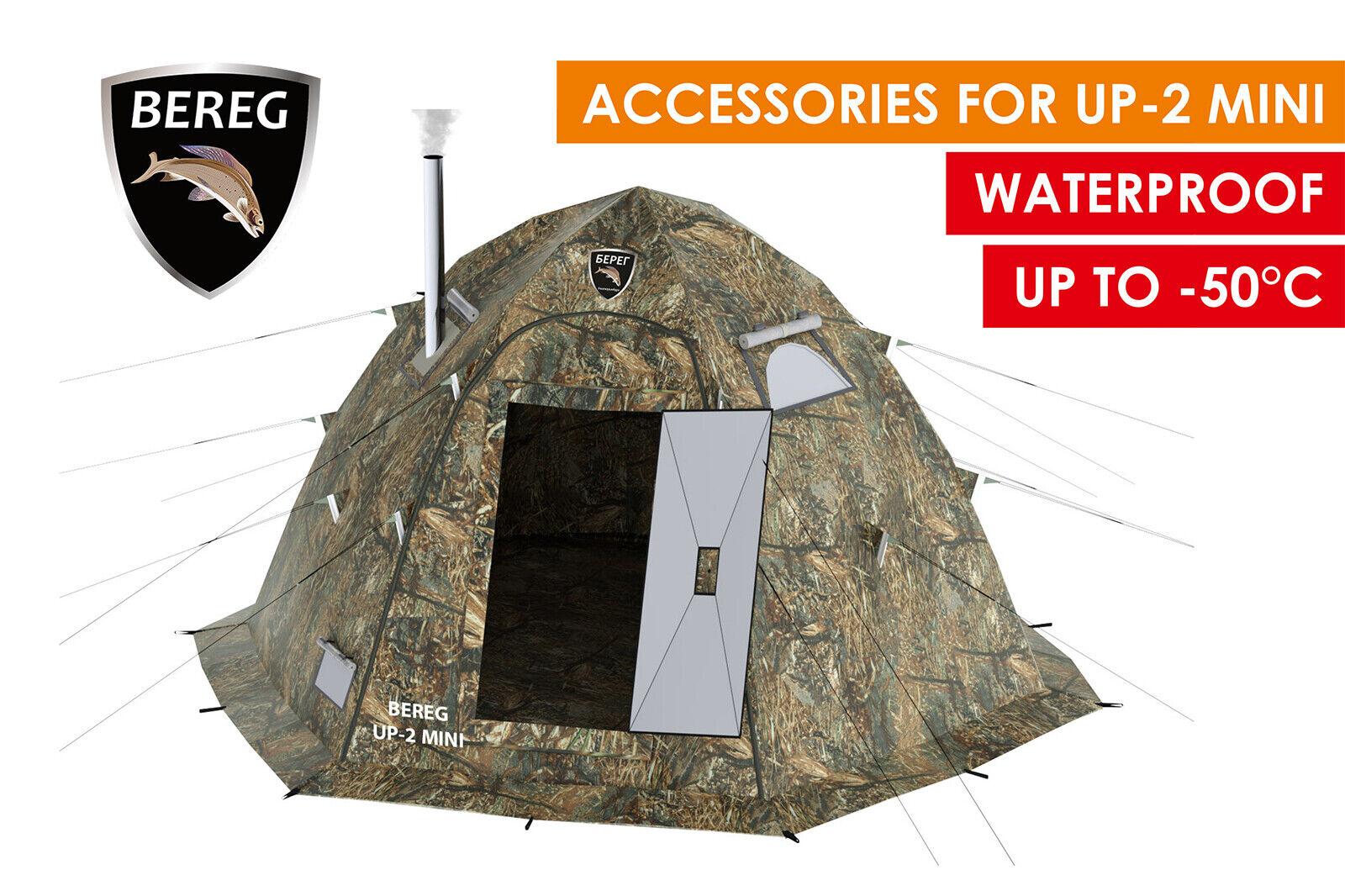 Arctic Cape for Tent UP2 mini Bereg. Winter Insulated Waterproof Windproof