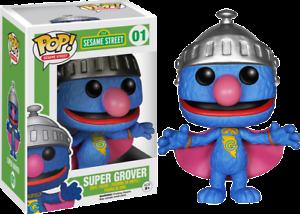 Super Grover Pop Pop Vinyl Vinyl--Sesame Street