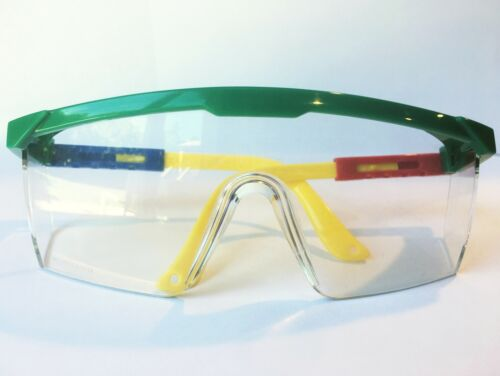 NEW Google Safety Glasses Goggles by MAGID With Protective Side and Top Shields