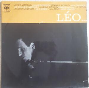 33T-Leo-FERRE-Vinyl-LP-12-034-THE-BRIDGE-MIRABEAU-LA-FORTUNE-my-COMRADE-CBS-217