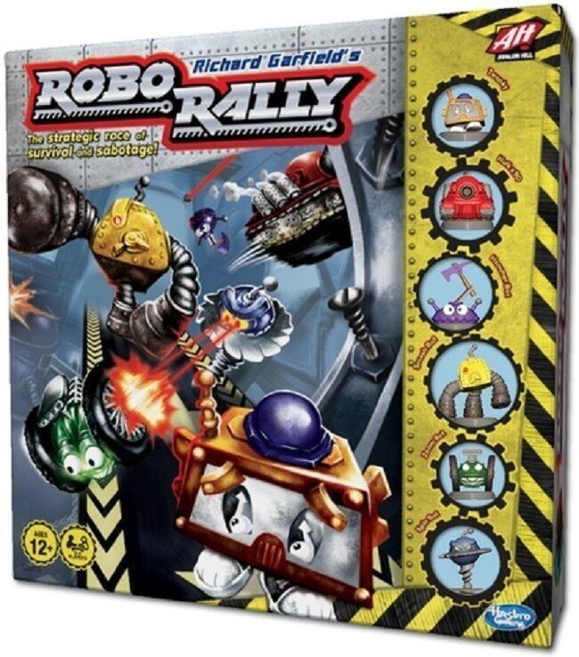 Hasbro  robo - rallye (roborally) brettspiel (neu)