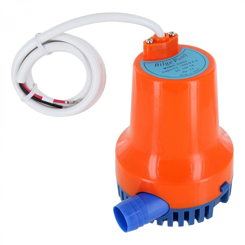Bilgepumpe Pumpe Bilgenpumpe Pumpe Bilgepumpe 4800 Liter 12 V NEU 4095 38549f