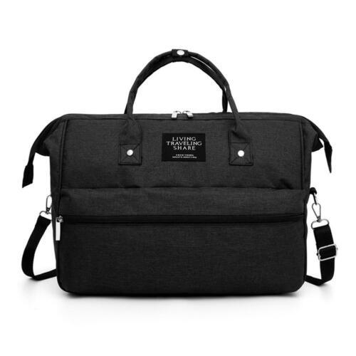 Mommy Travel Shoulder Crossbody Handbags Large Capacity Maternity Nappy Bag UK