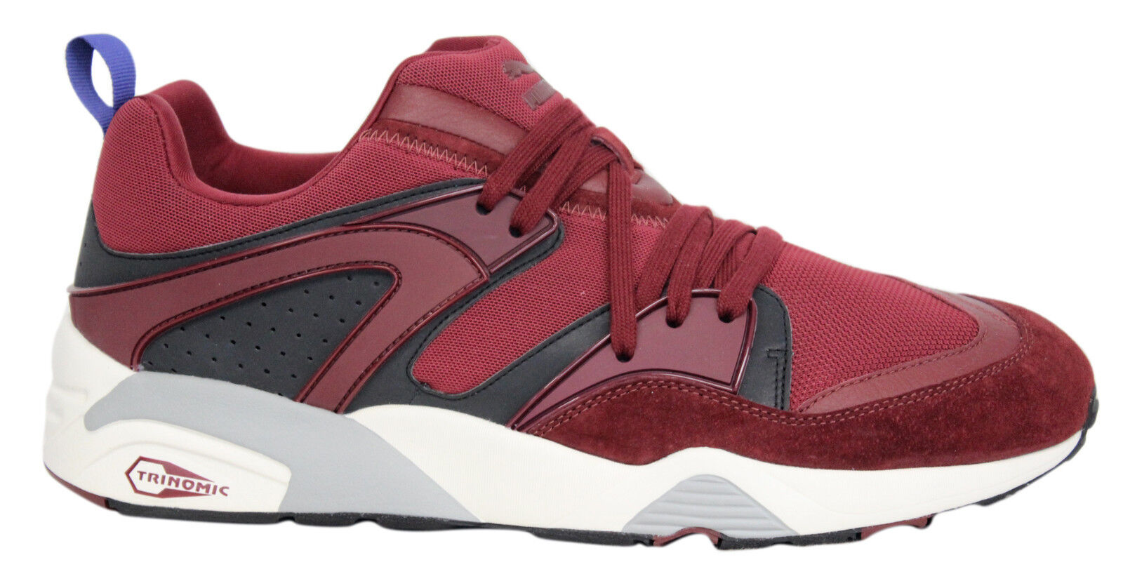 PUMA TRINOMIC FUOCO casual mens Scarpe da ginnastica stringate rosse/Grigio best-selling model of the brand