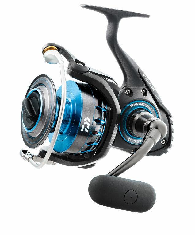NEW Daiwa Saltist 4500 9BB 5.7 1 Saltwater Spinning Fishing Reel DSALTIST4500