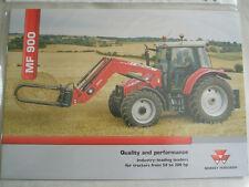 Massey Ferguson MF 900 cargadores para tractores 50 a 300hp FOLLETO 2005