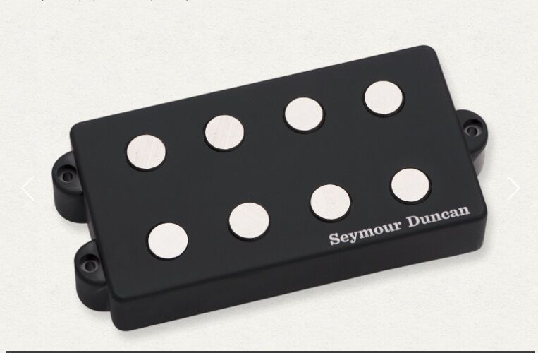 Seymour Duncan Music Man 3 Coil Alnico V SMB-4A Schwarz