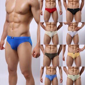 Comfy-Mens-Underwear-Briefs-Soft-Smooth-Bulge-Pouch-Boxer-Briefs-Underpants