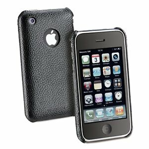 Cellular-Line-Snap-PU-Leather-Hard-Case-for-iPhone-3G-and-3GS-White