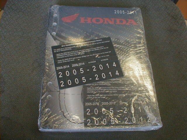 Honda Trx500fa Foreman Rubicon 2005