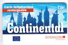FRANCE TELECARTE / PHONECARD PREPAYEE .. 7€50 SYMACOM TOUR EIFFEL PISE +N°