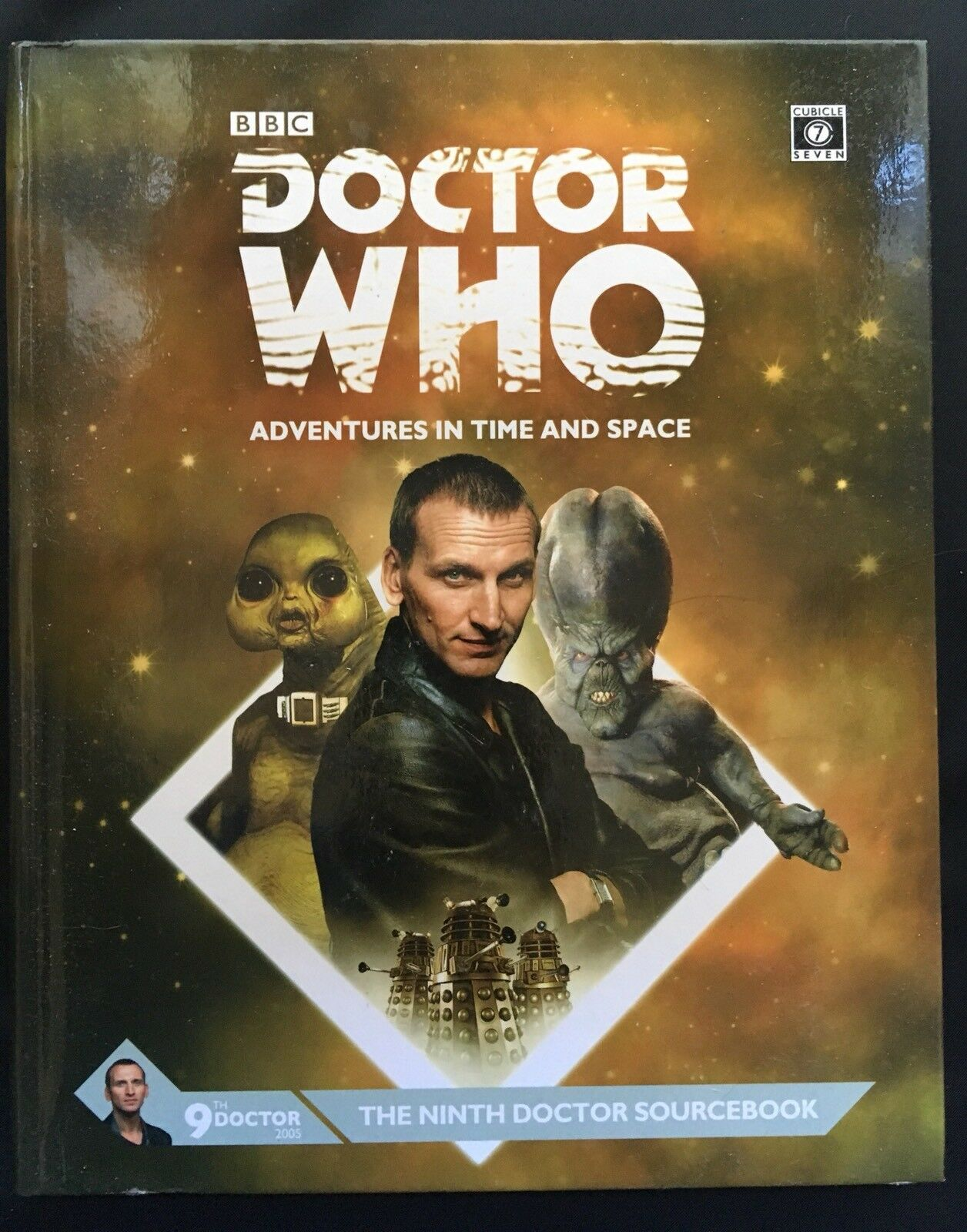 The Ninth Doctor Sourcebook - Cubicle 7 - Doctor Who RPG CB71118