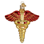 034-Medical-Symbol-034-36239-X-Old-World-Christmas-Glass-Ornament-w-OWC-Box thumbnail 1