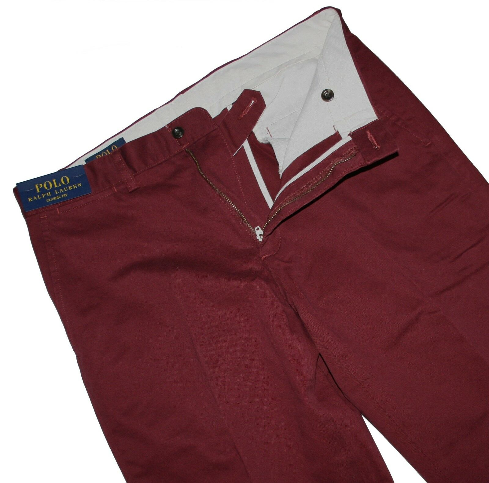 Polo Ralph Lauren Classic Fit Preston Dark rot Pant Chino Hose