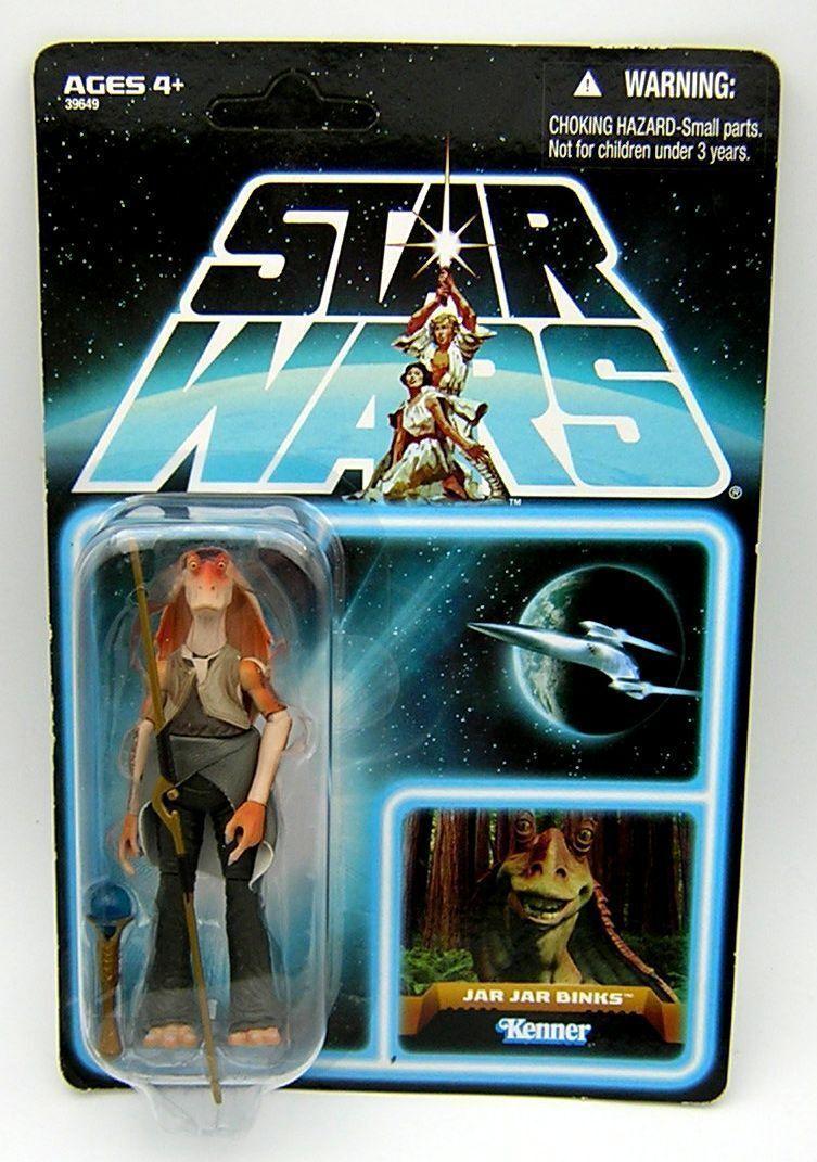 Star Wars Vintage Collection VC EP101 Jar Jar Jar Jar Binks ( Lost Line ) Unpunched  2d5fa2
