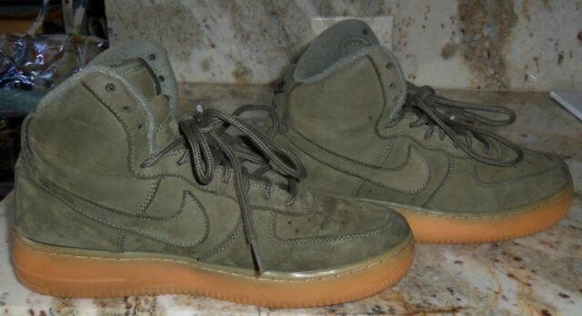 Nike Air Force 1 High Medium Olive Shoes Best Price 922066 202