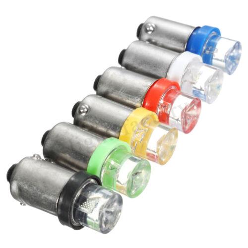 2//10 x Car 12V 1 SMD LED BA9S Bayonet T4W 233 Side Indicator Lights Bulbs