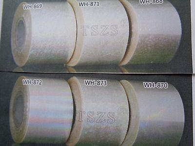 6 x 30cm  AB TRANSPARENT DESIGNS -  NAIL ART FOIL - NORMAL/ ACRYLICS/ GEL