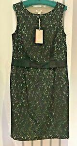 MONSOON-Dress-Black-Lace-Shift-034-Estelle-034-LBD-Sleeveless-BNWT-UK14-EU42-RRP-85