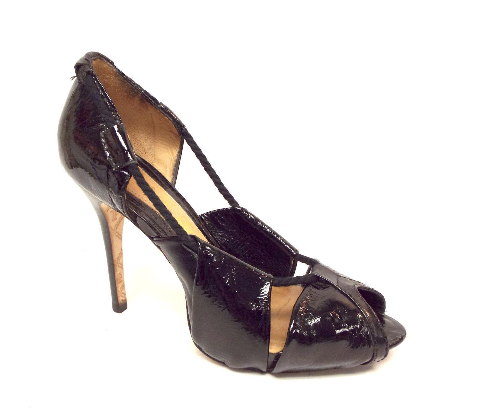 L.A.M.B. schwarz Leder schuhe. Günstige und gute Schuhe