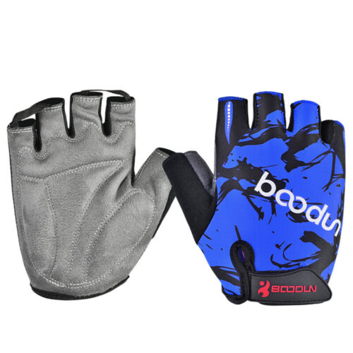Adult Unisex Summer Thin Half Finger Sports Cycling Bike Gloves Multi-color L037