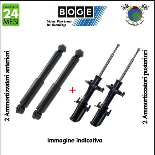 Kit ammortizzatori ant+post Boge MERCEDES VIANO CDI 3.7 3.5 3.2 3 VITO 126 123