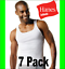 Hanes Tank Undershirt 7-pack Men/'s FreshIQ ComfortSoft Tank Bonus White A Shirt