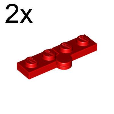 2429c01 Lego tan hinge plate 1x4 base with same color hinge plate 1x4 top x10