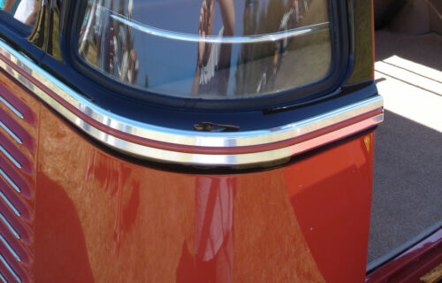 PLASTIC FILLER INSERT WAX RED FIT DELUXE BODY MOLDING KIT TYPE 2 BUS SPLIESCREEN