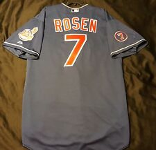 Authentic Majestic 52 2XL, CLEVELAND INDIANS AL ROSEN ON FIELD COOL BASE Jersey