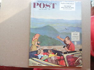 Saturday-Evening-Post-Magazine-July-18-1953-Complete
