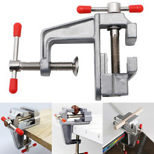 "New Mini Aluminum 3.5"" Small Jewelers Hobby Clamp On Table Bench Vise Tool Vice"