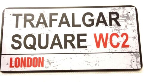 Piccadilly Circus London METAL London Street Signe Plaque Trafalgar SQ Covent gdn