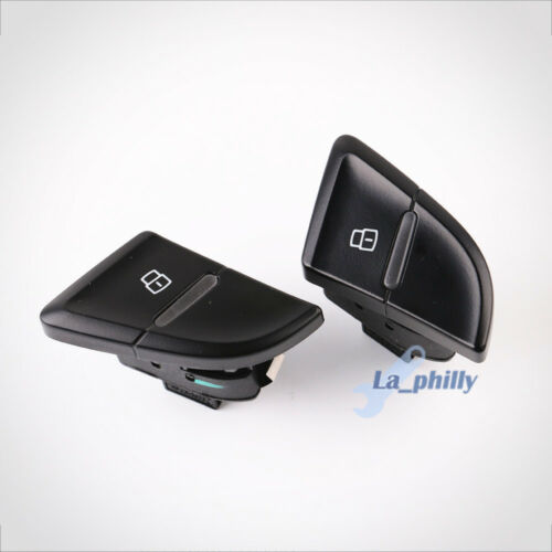 Pair OE Rear Right Left Door Lock Unlock Switch Button For AUDI S4 B8 A4 Allroad
