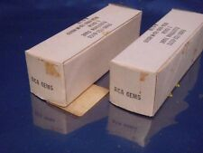 LOT OF 2 RCA ELECTRON TUBE 6EM5 A-4/70  NEW IN BOX