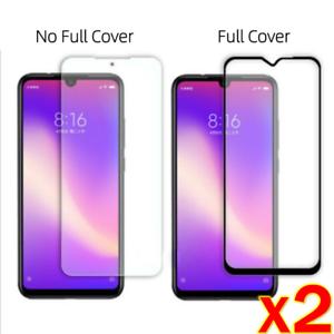 2X For Xiaomi Redmi Note 7/ 8/ Pro FULL Tempered Glass Screen Protector Film ES