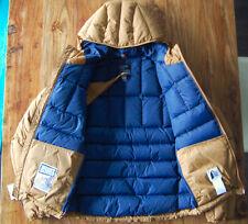 NWT Mt Rainier Design Goose Down Hooded Jacket Coat Parka Japan Crescent Works S