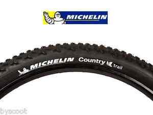 2 pneus VTT 2 chambres à air MICHELIN Country Cross 26 x 1.95 vélo MTB NEUF