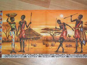 3 Servietten Afrika Kenia Namibia Massai Krieger Deko Basteln