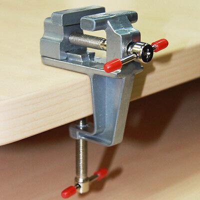 Handwerkzeuge Alu Tisch Schraubstock mit Klemme für Juwelier Basteln Modellbau | eBay