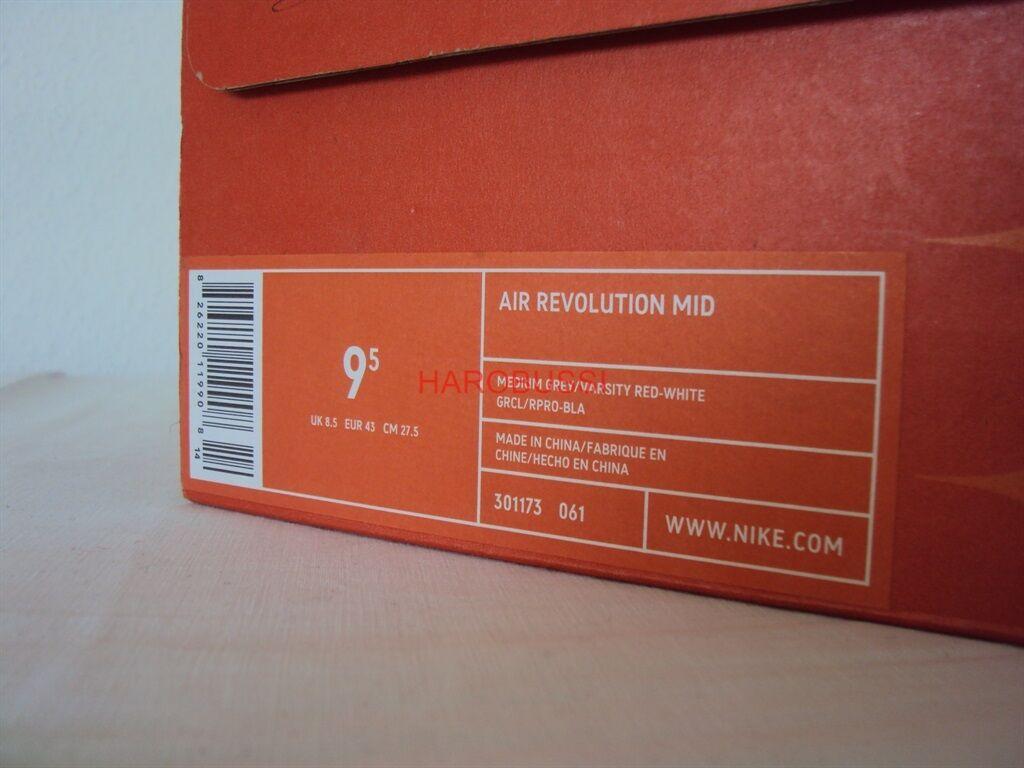 Original Nike Air Revolution Mid Schuhe Sneaker Max one one one Gr: US: 9,5 / 43 NEU Box 871ffd