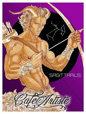 Ltd Ed Signed PRINT LEO Gay Art Male Nude Drawing By Bilal